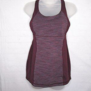 Lululemon Strappy Plum Purple Crisscross Strappy